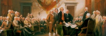July 4th, 1776 US Adopts Declaration of Independence